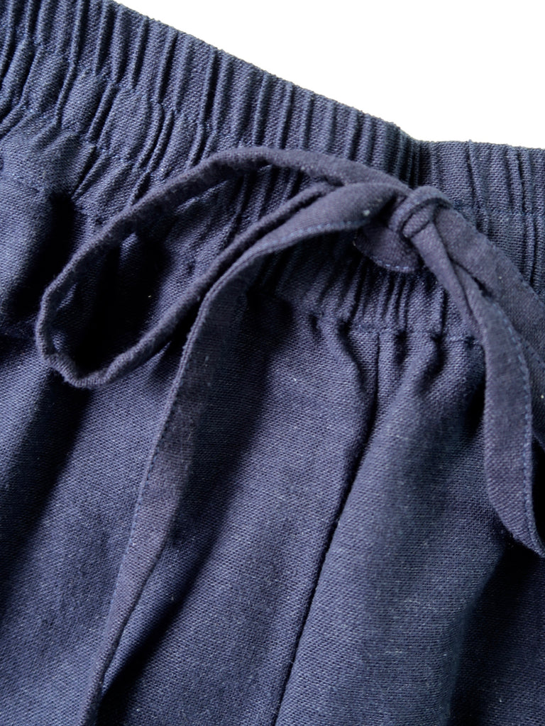 Women's Wide-leg Pants - Navy
