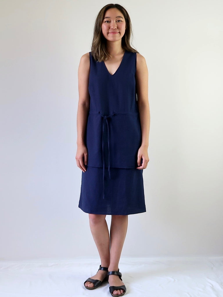 Women's Layer Dress - Navy
