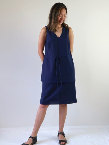 Women's Layer Dress - Ecru