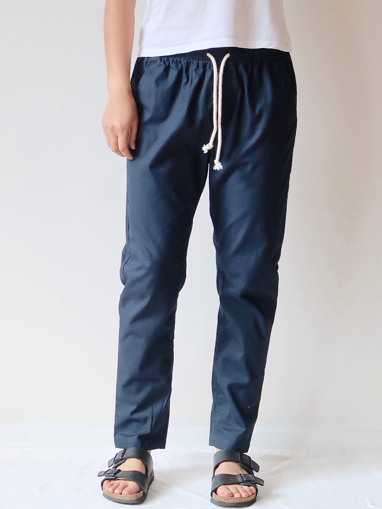 Women's Casual Pants - Navy