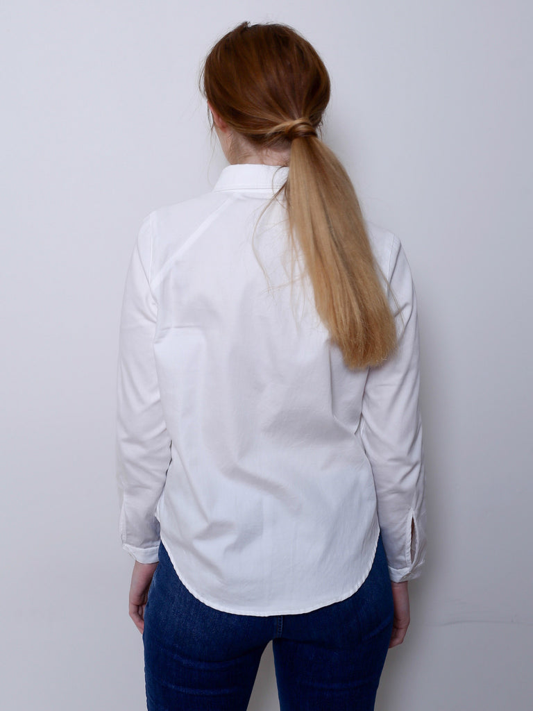 Women's Organic Cotton Shirt (White)