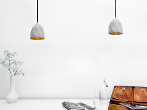 T Series Concrete Pendant by Gantlights