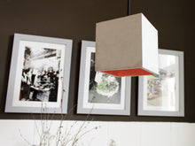 Load image into Gallery viewer, B Series Cubic Concrete Pendant by Gantlights