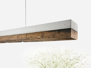 C Series Limited Edition Old Berlin Wood Pendant by Gantlights **SOLD OUT**