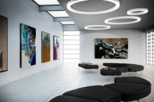 Load image into Gallery viewer, Silver Ring Ceiling/Wall light by Panzeri
