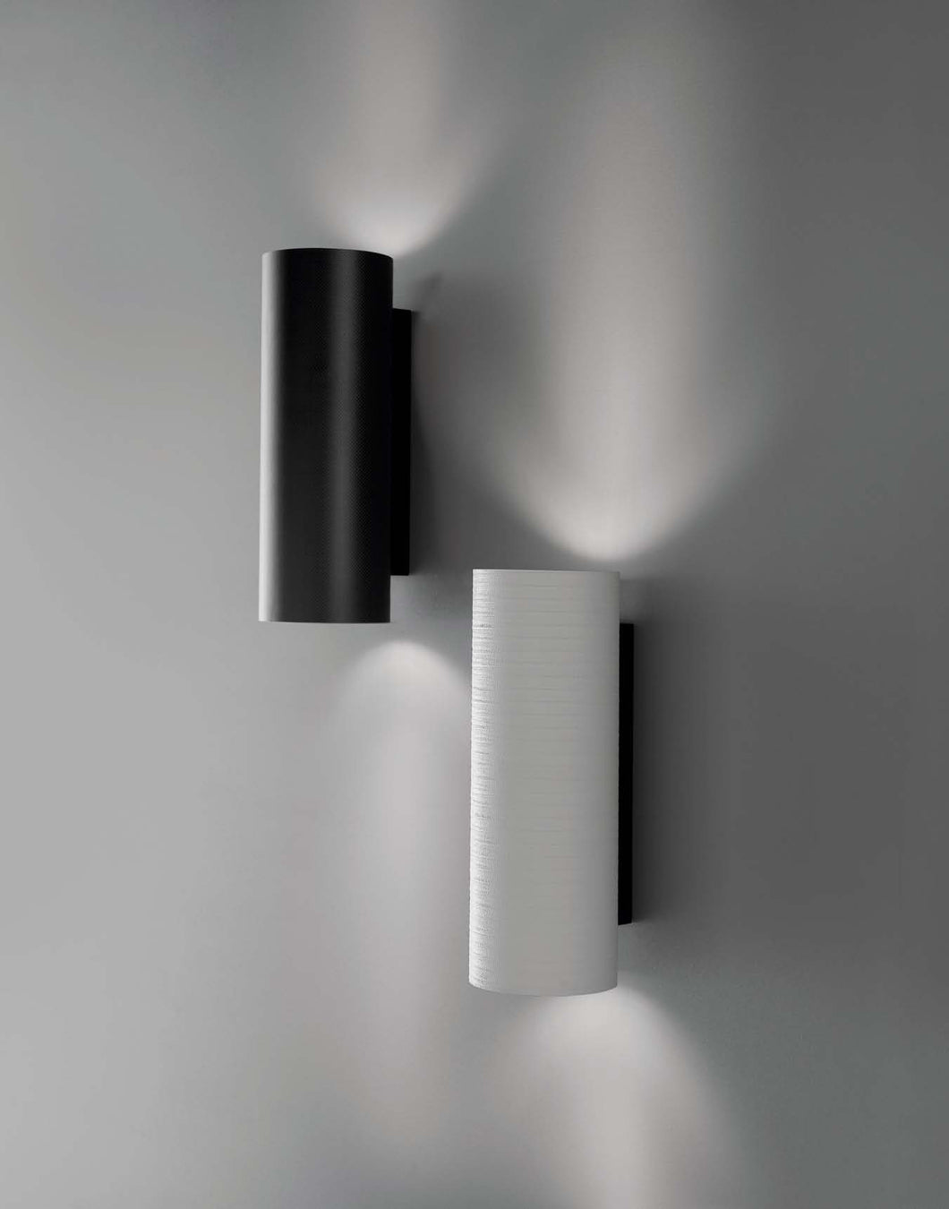 Tube Wall Light range by Karboxx