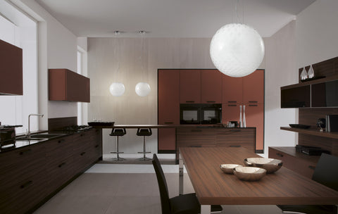Bolle Pendant range by Vistosi
