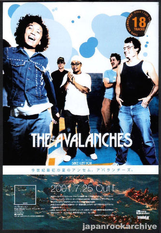 The Avalanches 2001/08 Since I left You Japan album promo ad