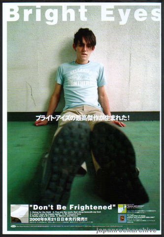 Bright Eyes 2000/11 Don't Be Frightened Japan album promo ad