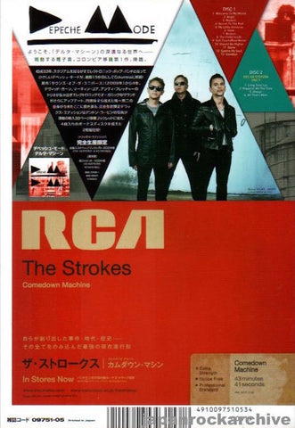 Depeche Mode 2013/05 Delta Machine Japan album promo ad
