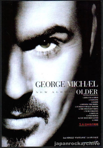 George Michael 1996/05 Older Japan album promo ad