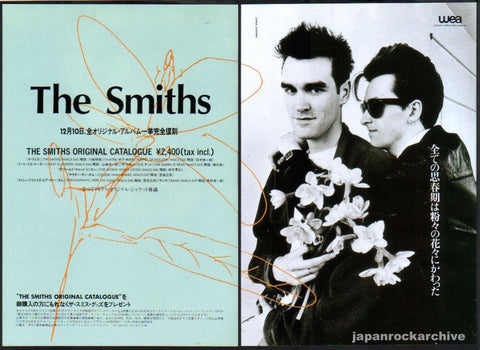 The Smiths 1993/12 Original Catalogue Japan album promo ad