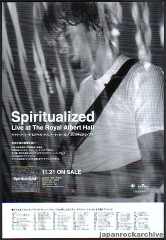 Spiritualized 1998/12 Live At The Royal Albert Hall Japan album promo ad