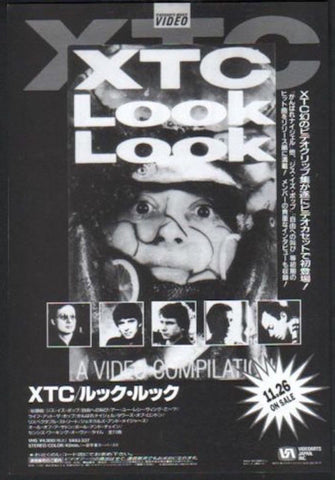 XTC 1992/12 Look Look Japan video promo ad