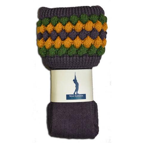 West London Gun Room Lady Angus Thistle Socks