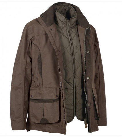 Percussion Normandie Mens Jacket with Removable Vest 3 in 1