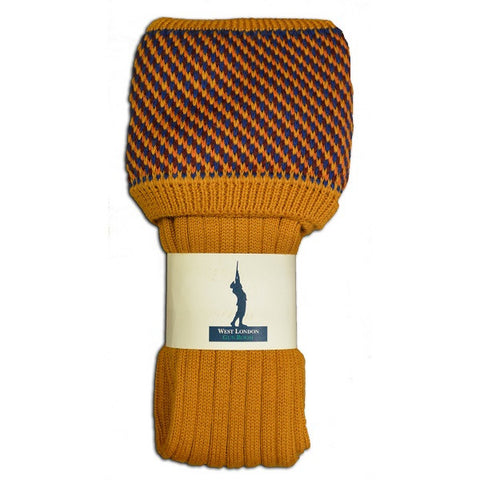 West London Gun Room Tayside Ochre Socks