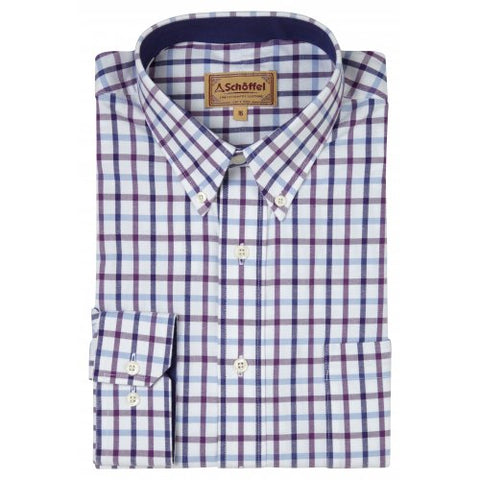 Schoffel Brancaster Shirt - Purple