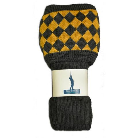 West London Gun Room Cheeseboard Loden Socks