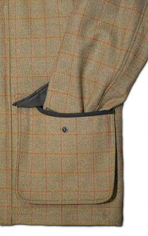 West London Shooting School Tweed Shooting Jacket