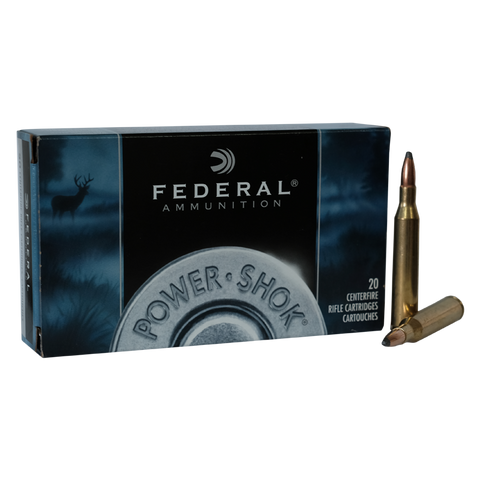 Federal - 7x57 Power Shock 140Grn Speer