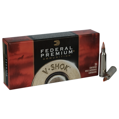 Federal - .22 - 250 REM 55Grn Ballistic Point
