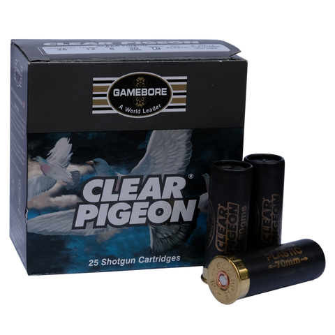 Gamebore - 12g Clear Pigeon 30g 6 PW