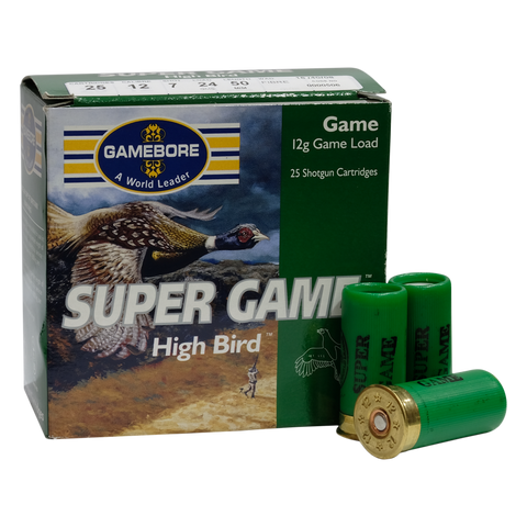 "Gamebore - 12G 2"" Super Game High Bird 24g 7 FW"