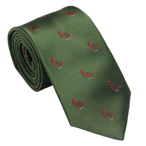 Laksen Grouse Moorgreen Tie
