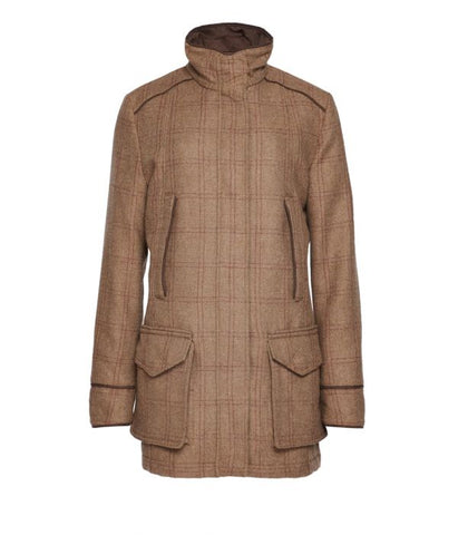 Purdey Ladies Tweed Field Coat Purdey