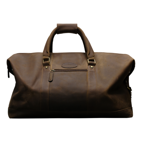 Teales Full Leather Weekend Bag