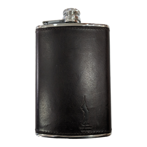 West London Shooting School Hip Flask