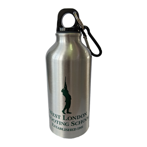 West London Shooting School Aluminium Water Bottle
