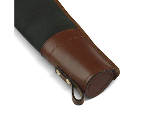 Croots Rosedale shotgun slip with flap, zip and carry handles