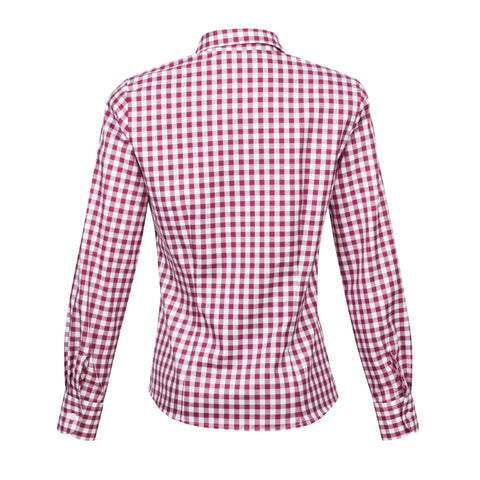John Field Elgin Shirt - Berry
