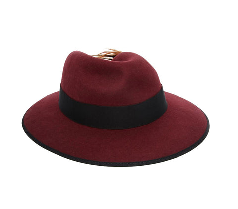 Christy's Madison Hat - Maroon
