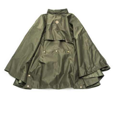 John Field Rain Poncho - Forest Green