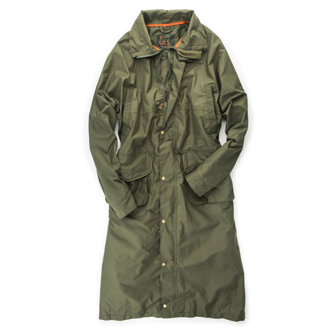 John Field Hurricane Rain Coat - Forest Green