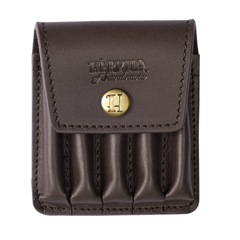 Harkila Rifle Cartridge Cover - Brown Leather