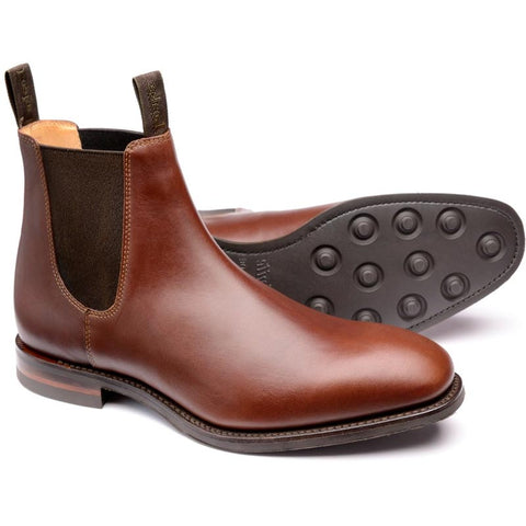 Loake Brown Waxy Boots