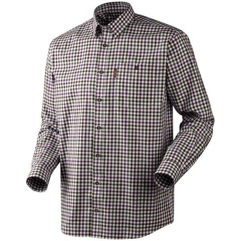 Harkila Milford Shirt - Blackberry Check
