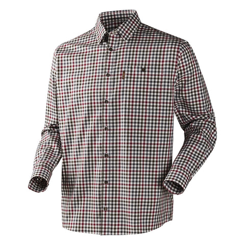 Harkila Milford Shirt - Beetroot Check