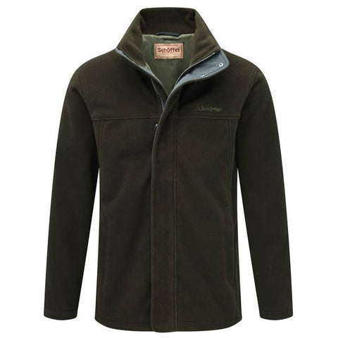 Schoffel Mowbray Windstopper Fleece - Dark Olive
