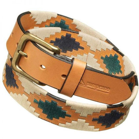 Pampeano Leather Polo Belt Estancia