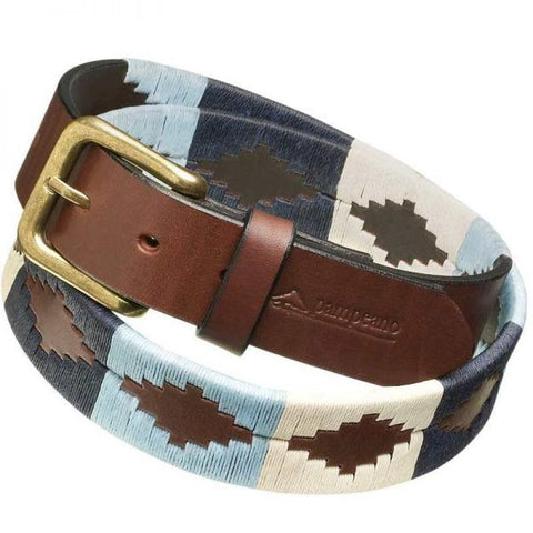 Pampeano Leather Polo Belt Sereno