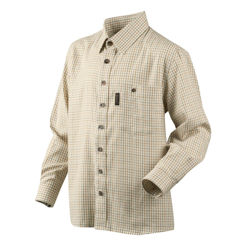 Seeland Edwin Children's Shirt - Ecru Check