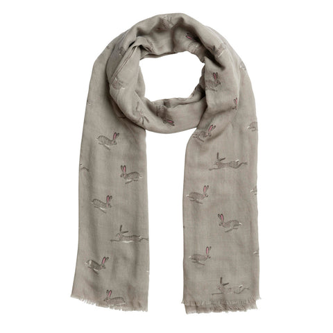 Sophie Allport Hare Printed Scarf