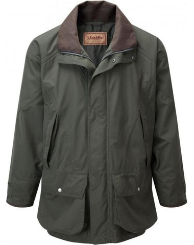 Schoffel Ptarmigan Ultralight Coat - Dark Olive