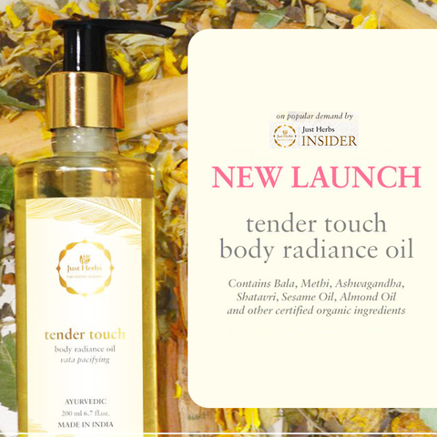 Tender Touch Body Radiance Oil