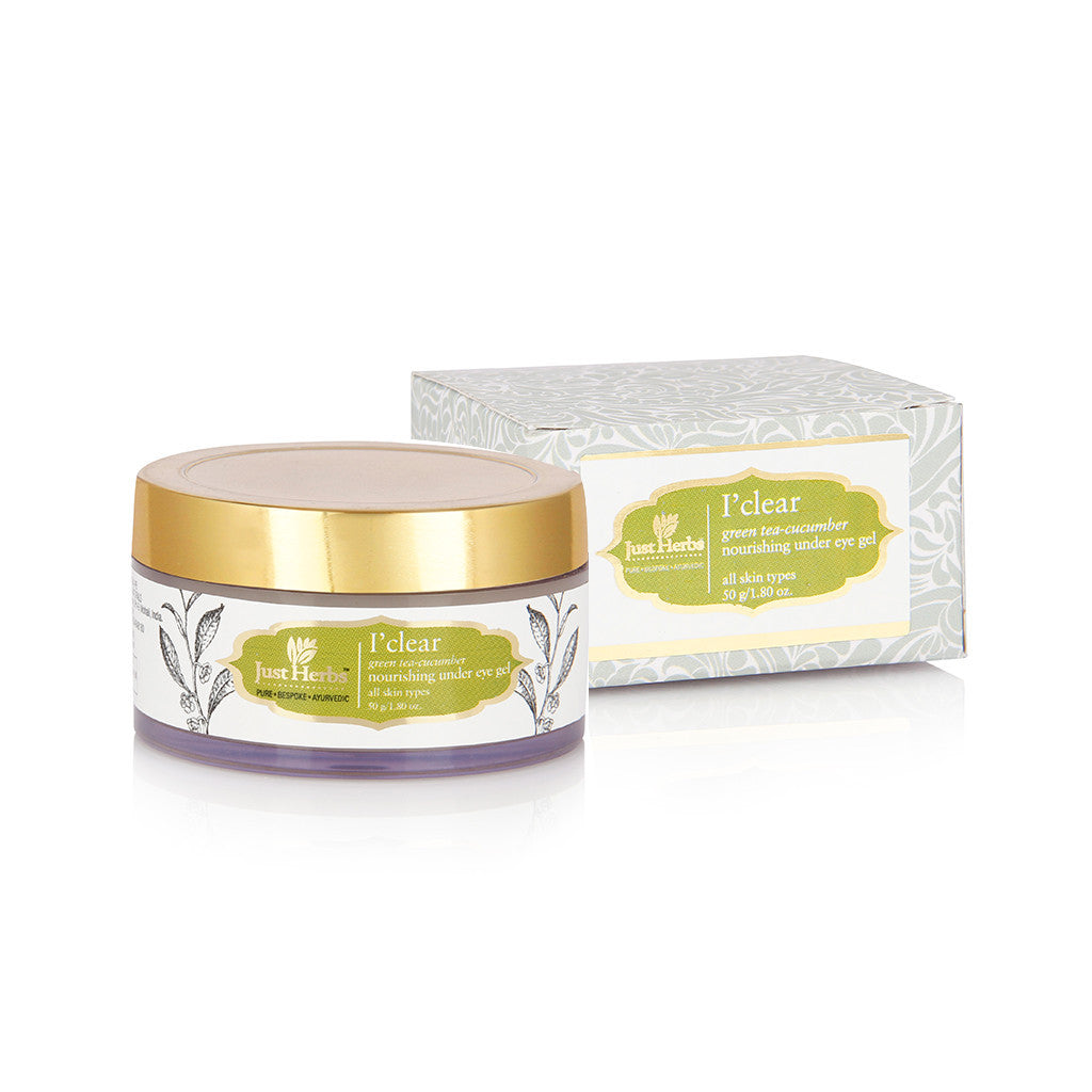 I'clear Green Tea-Cucumber Nourishing Under Eye Gel